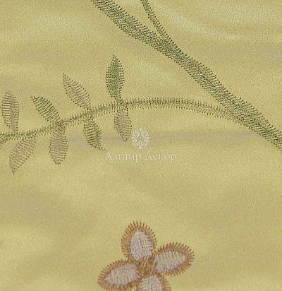 Портьерная ткань с вышивкой 6948-47 Volland