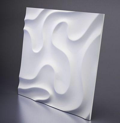 D-0001-1 3D  Fog -1 Дизайнерская панель ARTPOLE