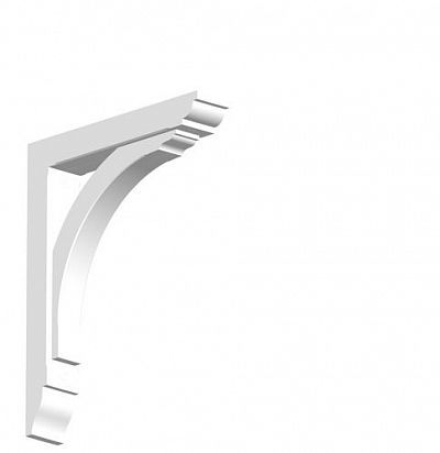 Арка малая из дюрополимера для фасадного декора GB02 ORAC DECOR