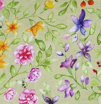 Портьерная ткань Hansel Apple Voyage Decoration