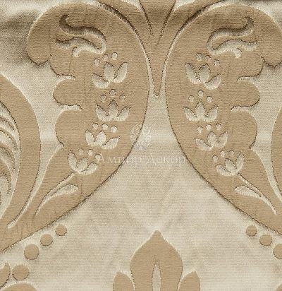 Жаккардовая ткань с классическим рисунком 5264-155/414 Tagete Ampir Decor