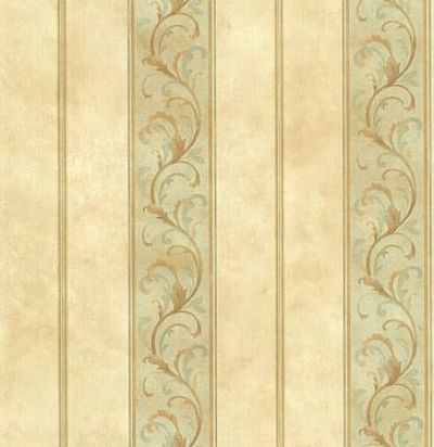 обои в полоску с узором CD002048 Chelsea Decor Wallpapers