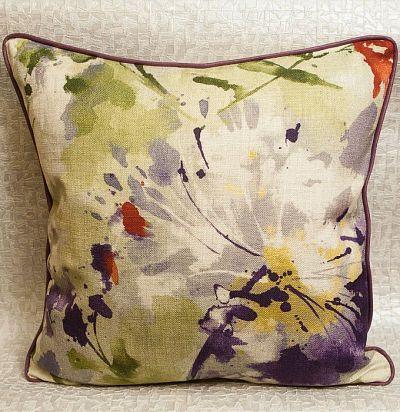 подушка декоративная с печатным рисунком Simi Amethyst Sanderson