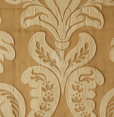 Жаккардовая ткань с классическим рисунком 5264-420/414 Tagete Ampir Decor