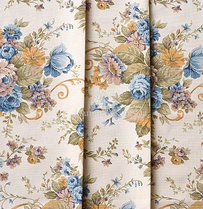 Хлопок ткань с цветочным рисунком Balmoral-2 Ampir Decor