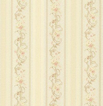 обои бежевые полосатые CD001745 Chelsea Decor Wallpapers