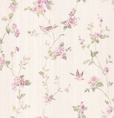 обои с розовыми цветами CD002536 Chelsea Decor Wallpapers
