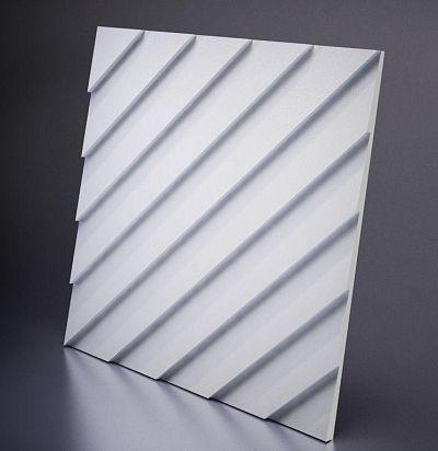М-0034 3D  Lambert Дизайнерская панель из гипса ARTPOLE