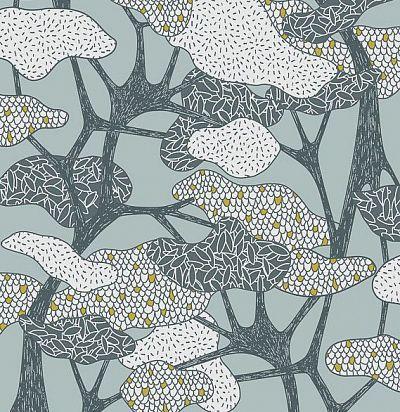 обои с абстрактными деревьями 36543 Hookedonwalls