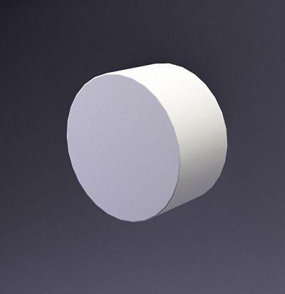 E-0020 3D  Disk-50 Дизайнерская панель из гипса ARTPOLE