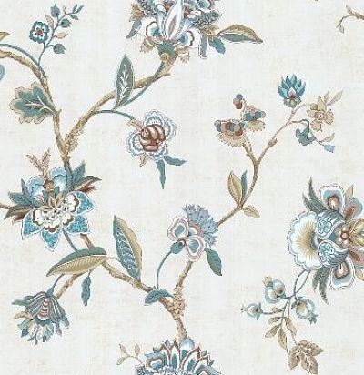 обои с растительным рисунком CD003310 Chelsea Decor Wallpapers