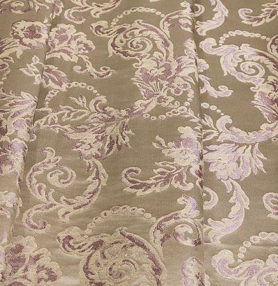 жаккардовая ткань из шелка с классическим узором  S5509-31312 Ampir Decor