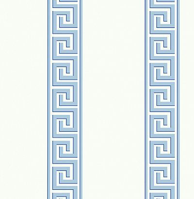 Обои Thibaut Imperial Garden T14241 Andreas Stripe Blue Thibaut