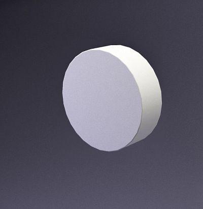 E-0018 3D  Disk-30 Дизайнерская панель из гипса ARTPOLE