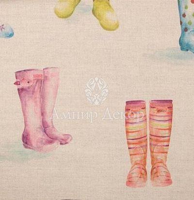 портьерная английская ткань Welly Boots Linen Voyage Decoration