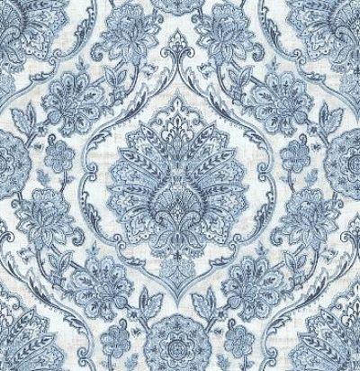 обои с голубым дамаском CD003319 Chelsea Decor Wallpapers