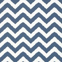 Фото: Обои Thibaut Graphic Resource T35193 Widenor Chevron Navy- Ампир Декор