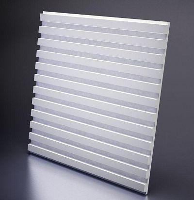 M-0030 3D  Paraline Дизайнерская панель из гипса ARTPOLE
