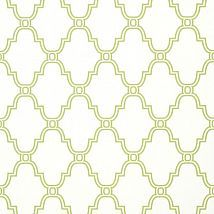 Фото: Обои Thibaut Graphic Resource T35115 Stanbury Trellis Green- Ампир Декор