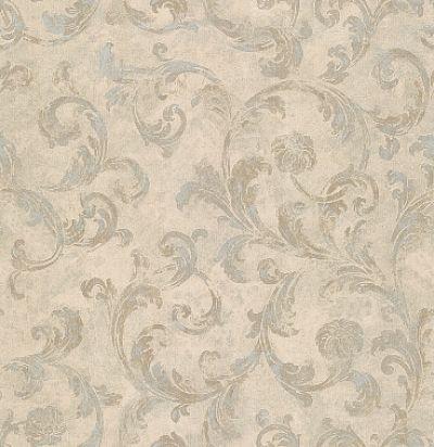обои бежевые с узором CD003346 Chelsea Decor Wallpapers