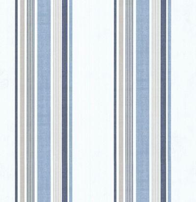 обои в голубую полоску CD003336 Chelsea Decor Wallpapers