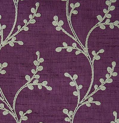Ткань для портьеры с вышивкой Sevati Iris Voyage Decoration
