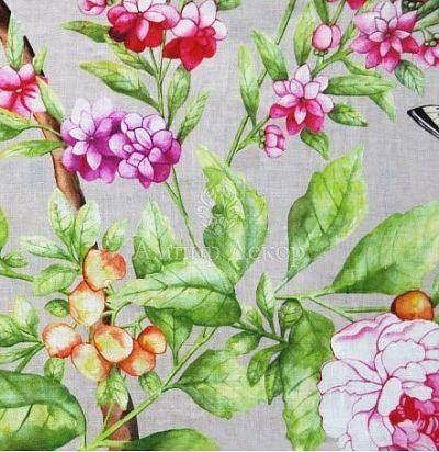 Портьерная ткань Rapunzel Truffle Voyage Decoration