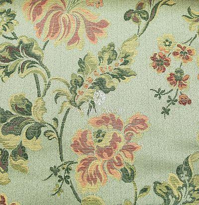 Жаккардовая ткань с цветочным рисунком 1435494 Simta
