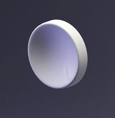 E-0059 3D  Luna Дизайнерская панель из гипса ARTPOLE