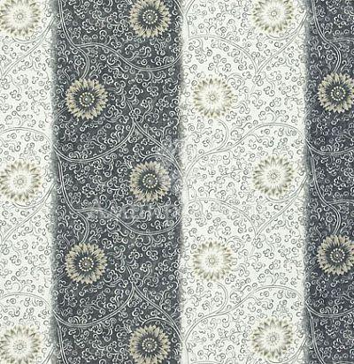 ткань в полоску с цветами Англия F1838/02 Designers Guild
