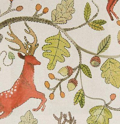ткань из льна с принтом Archie Hawthorn Voyage Decoration