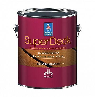 Масло-пропитка для дерева для внешних работ Super Deck Oil-based Semi-Transp 3,8 л