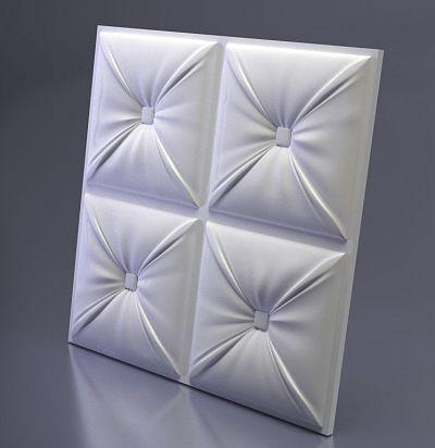 M-0048 3D  Chester Дизайнерская панель из гипса ARTPOLE