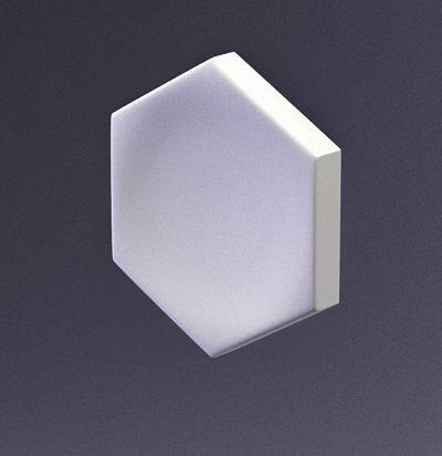 E-0005 3D  Heksa-big button Дизайнерская панель ARTPOLE