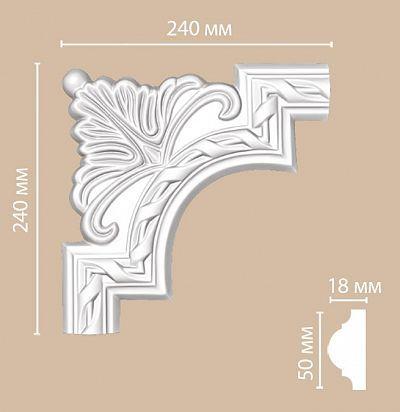 Лепнина из полиуретана 98061-1/50 Decomaster