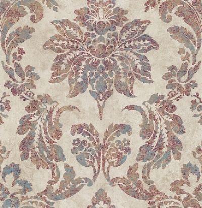 обои с растительным дамаском CD003351 Chelsea Decor Wallpapers