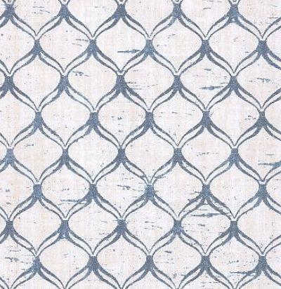 обои с синей решеткой CD003329 Chelsea Decor Wallpapers