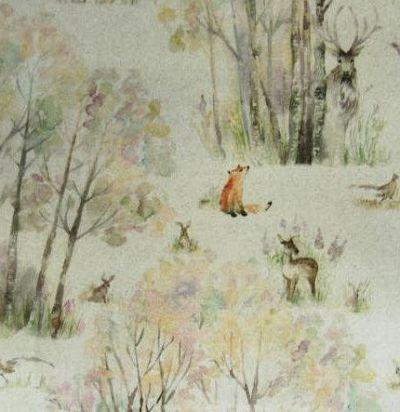 Английский хлопок Enchanted Forest Oil Cloth Voyage Decoration