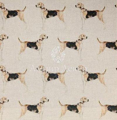 портьерная английская ткань Hound Linen Voyage Decoration
