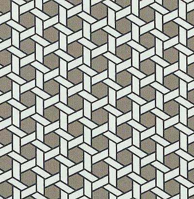 дизайнерская ткань из хлопка с принтом 42446/352 Duralee