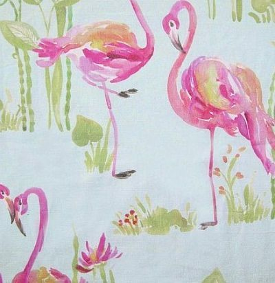 детские ткани Feathery Flamingo Aqua Voyage Decoration