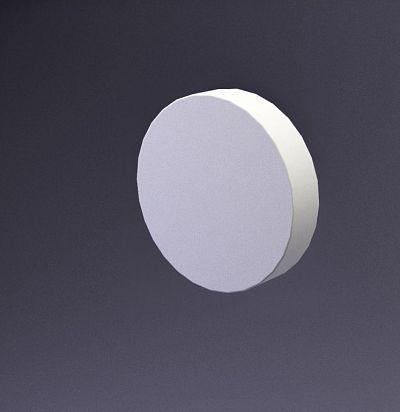 E-0017 3D  Disk-20 Дизайнерская панель ARTPOLE