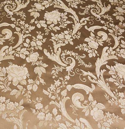натуральный шелк с цветочным узором Lago 6218-806/gg/414 Ampir Decor