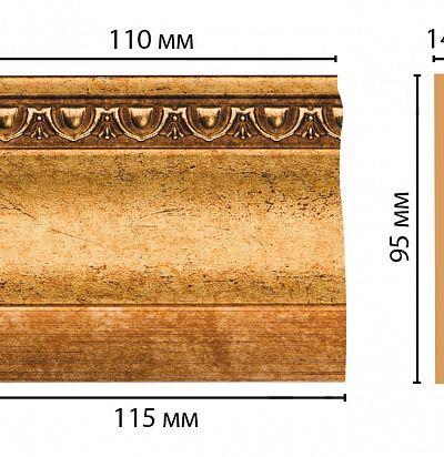 Цветная лепнина D204-58 Decomaster