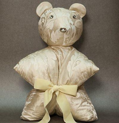 Подушка-медведь Elisabetta beige Ampir Decor