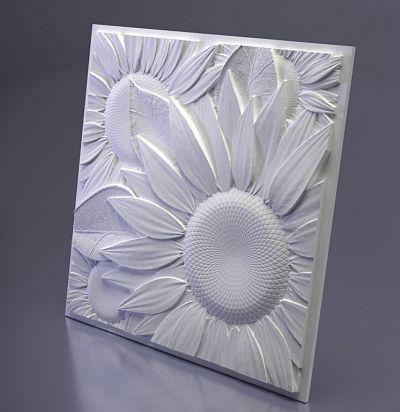 M-0046 3D  Sunflower Дизайнерская панель ARTPOLE