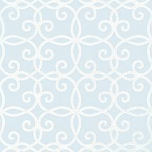 Фото: Обои Thibaut Geometric Resource 2 T11063 Kendall Blue- Ампир Декор