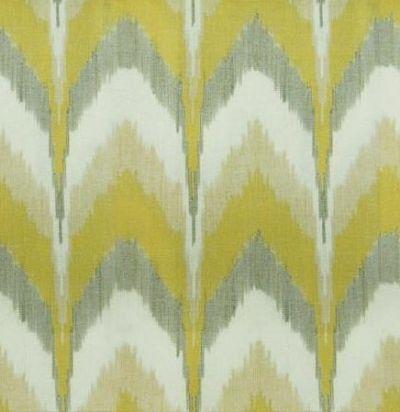 Хлопковая ткань с принтом Lausha Print Mustard Voyage Decoration