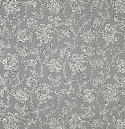Льняная ткань с вышивкой F4110/02 Colefax and Fowler