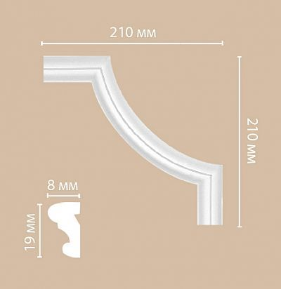 Лепнина из полиуретана 97100-2/100 Decomaster